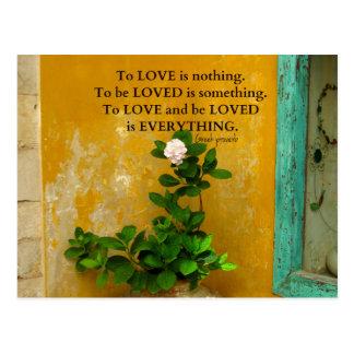 greekproverbInspirational Liebezitat Postkarte
