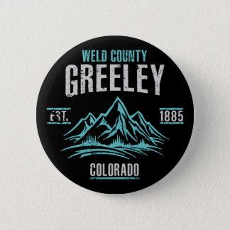 Greeley Runder Button 5,7 Cm