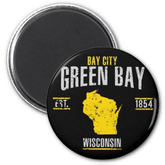 Green Bay Runder Magnet 5,1 Cm