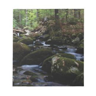 Green River Bett Notizblock