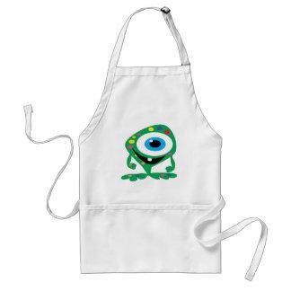 Greendot-Monster Schürze