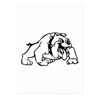 Greenfield-Bulldoggen Postkarte