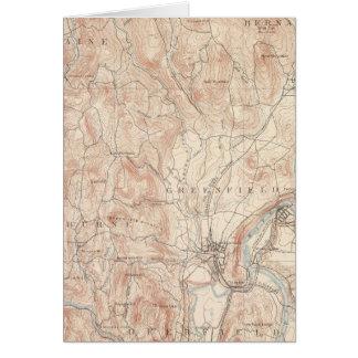 Greenfield, Massachusetts Karte