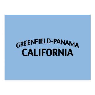 Greenfield-Panama Kalifornien Postkarte