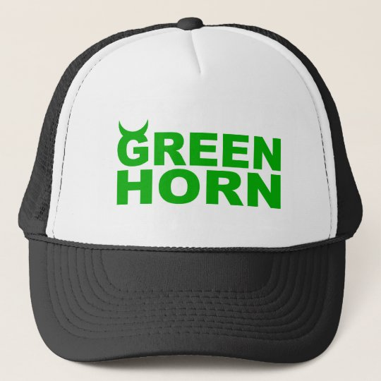 greenhorn truckerkappe
