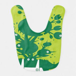 Greenman Schellfisch Babylätzchen