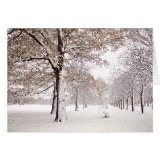 Greenwich-Park im Winter Karte