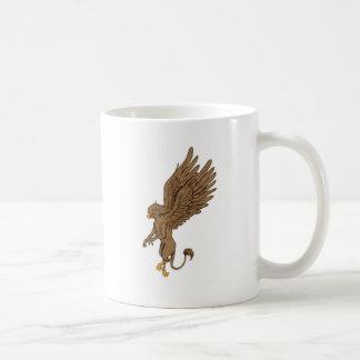 Greif, Gryphon oder Griffon Kaffeetasse