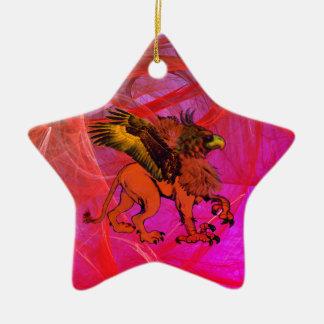 Greif-Stern-Verzierung #1 Keramik Ornament