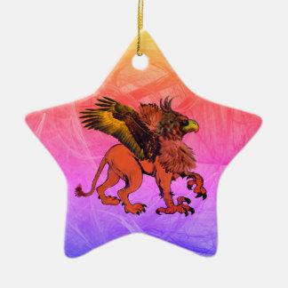 Greif-Stern-Verzierung #2 Keramik Ornament