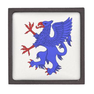 Greif-zügelloses Azurblau Kiste