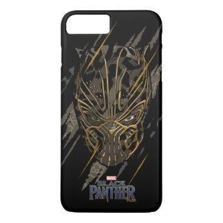 Greifer-Kennzeichen des schwarzen Panther-  Erik iPhone 8 Plus/7 Plus Hülle