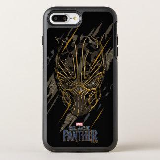 Greifer-Kennzeichen des schwarzen Panther-  Erik OtterBox Symmetry iPhone 8 Plus/7 Plus Hülle