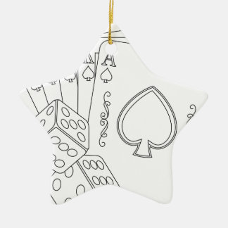 grelles königliches keramik ornament