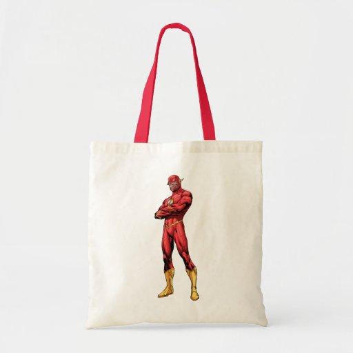 Grelles stehendes einkaufstasche
