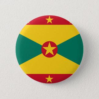 Grenada-Flagge Runder Button 5,1 Cm
