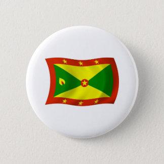 Grenada-Flaggen-Knopf Runder Button 5,7 Cm