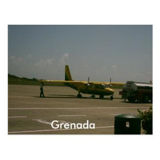 Grenada-Flughafen Postkarte