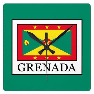 Grenada Quadratische Wanduhr