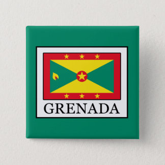 Grenada Quadratischer Button 5,1 Cm