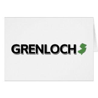 Grenloch, New-Jersey Karte