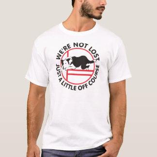 Grenzcollie-Agility weg vom Kurs T-Shirt