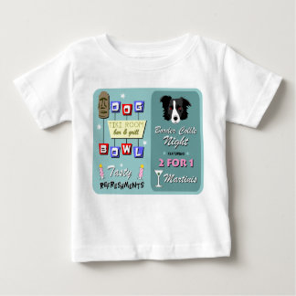 Grenzcollie-Bowling Baby T-shirt