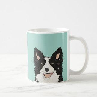 Grenzcollie-Tasse - niedliches Hundegeschenk für Kaffeetasse