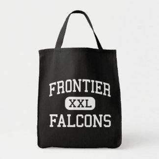 Grenze - Falcons - Jüngeres - Graham Washington Einkaufstasche