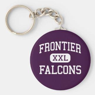 Grenze - Falcons - Jüngeres - Graham Washington Standard Runder Schlüsselanhänger