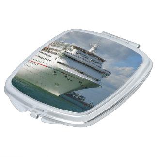 Grenze für Spaß-Kreuzschiff-Bogen Taschenspiegel