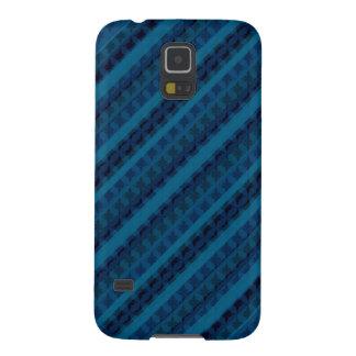 Grenzenlose Blues Stripes Gewohnheit Samsung Galaxy S5 Hüllen