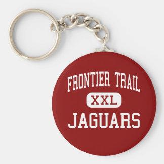Grenzspur - Jaguare - Jüngeres - Olathe Kansas Standard Runder Schlüsselanhänger