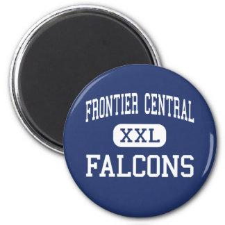 Grenzzentrale - Falcons - hoch - Hamburg Runder Magnet 5,7 Cm