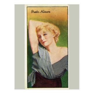Greta Nissen Postkarte
