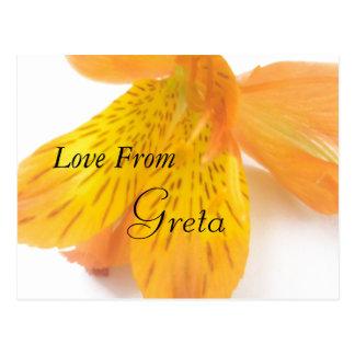 Greta Postkarte