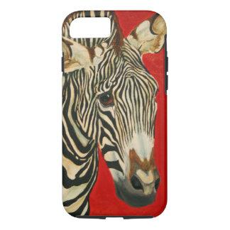 Grevys Zebra-afrikanische Tier-Zoo-Tier-Kunst iPhone 8/7 Hülle