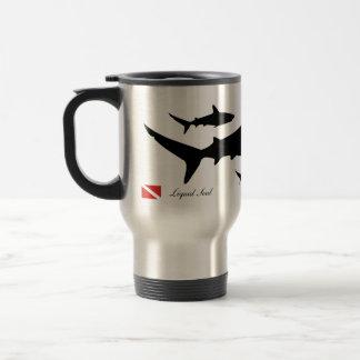 Grey Reef Shark - Travel Mug Edelstahl Thermotasse