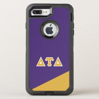 Grieche-Buchstaben Deltatau-Dreiecks| OtterBox Defender iPhone 8 Plus/7 Plus Hülle