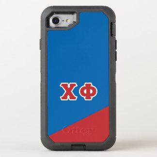 Grieche-Buchstaben des Chi-Phi-| OtterBox Defender iPhone 8/7 Hülle