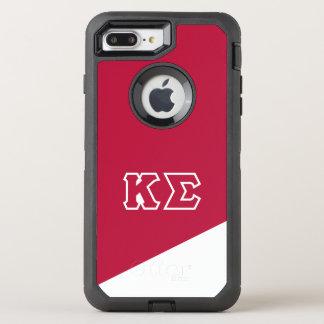 Grieche-Buchstaben des Kappa-Sigma-| OtterBox Defender iPhone 8 Plus/7 Plus Hülle