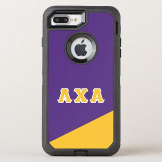 Grieche-Buchstaben des Lambda-Chi-Alpha-| OtterBox Defender iPhone 8 Plus/7 Plus Hülle