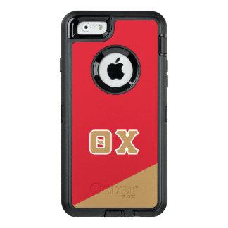 Grieche-Buchstaben des Theta-Chi-| OtterBox iPhone 6/6s Hülle