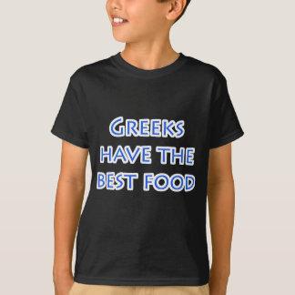Grieche hat das beste NahrungsmittelShirt T-Shirt
