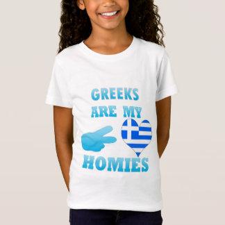 Grieche ist mein Homies T-Shirt