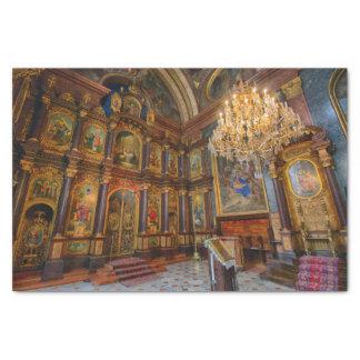 Griechenkirche zur Heiligen Dreifaltigkeit Seidenpapier