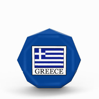 Griechenland Acryl Auszeichnung
