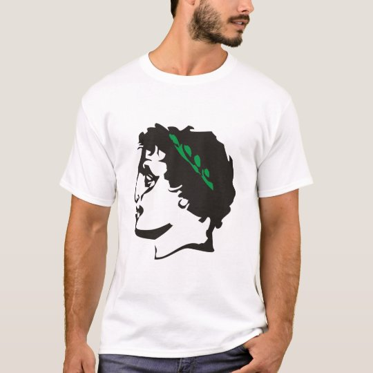 Griechenland Antike Kopf Lorbeerkranz T-Shirt