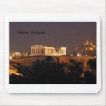 Griechenland - Athen - Akropolis (durch St.K) Mauspad