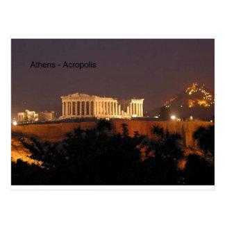 Griechenland - Athen - Akropolis (durch St.K) Postkarte